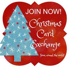christmas card christmas card exchange around the world