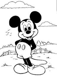 mickey mouse coloring coloring pages mickey