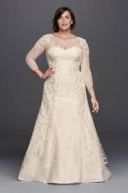 wedding dress david bridal for the plus size oleg cassini for david s bridal the