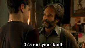 Good Will Hunting Meme - robin williams its not your fault gif find share on giphy