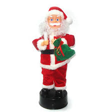 high quality singing santa claus ornament