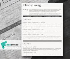 Resume Template Cv Template For by Simple Cv Template For Free Shades Of Black