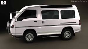 mitsubishi delica star wagon 4wd 1986 by 3d model store humster3d