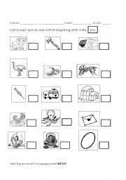 letter b cut and paste worksheet