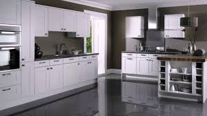 kitchen cabinets with gray floors white kitchen cabinets with grey floors