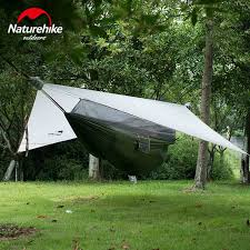 naturehike portable outdoor hanging tree tent hammock tent with