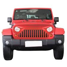 red jeep wrangler unlimited amazon com front gladiator vader grille in painted firecracker