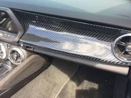 camaro zl1 carbon fiber insert carbon fiber dash panel option camaro6