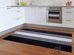 tappeti cucina on line tappeto cucina passatoia nera antiscivolo