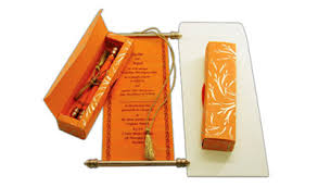 indian wedding invitations scrolls all scroll invitations scroll engagement wedding invitations