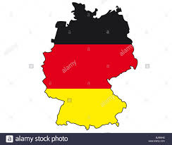 Flag Com Germany Flag Outline Stock Photo Royalty Free Image 28730158