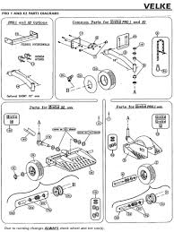 velke illustrated parts diagrams lawnmower pros