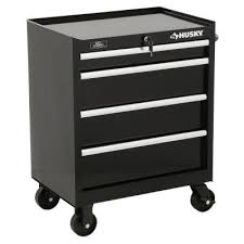 home depot tool cabinet husky 27 in w 4 drawer tool cabinet black tool cabinets drawers