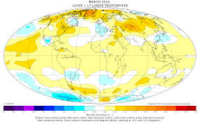 World Temperature Map by Global Temperature Warmest March Reporting Climate Science