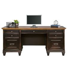 kathy ireland home by martin furniture hartford credenza desk