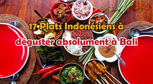 cuisine balinaise 17 plats indonésiens à déguster absolument à bali lebaliblog