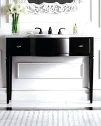 single sink console vanity benchwright single sink console wax pine finish eatmorecake site