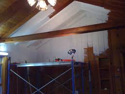 paint paneling cabin diy