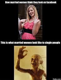 Gollum Meme - married women are gollum meme generator captionator caption