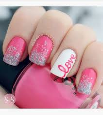 50 lovely pink and white nail art designs pink pink white