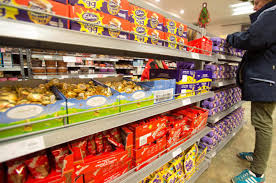 easter eggs for sale egg ceedingly early shops selling easter chocolates already