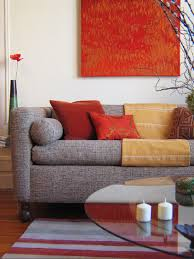 Red Living Room Chair by Decorating With Warm Rich Colors Designers Room And Asian
