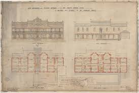 Clarence House Floor Plan Hotel Plans State Archives Nsw Digital Gallery