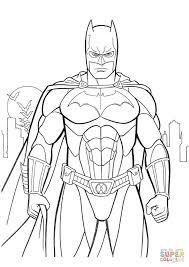 coloring pages graceful batman coloring color free