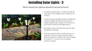hton bay black solar led pathway outdoor light 6 pack nxt