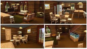 Log Cabin Furniture Mod The Sims Rustic Log Home