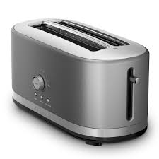 T Fal Toaster Kmt4116 4 Slice Long Slot Toaster