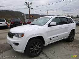 jeep grand cherokee limited 2017 white 2017 bright white jeep grand cherokee limited 75th annivesary