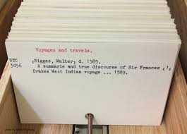 in defense of the card catalog the collation