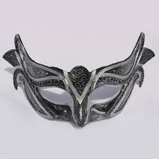 black bauta mask handcraft italy venice princess mask masquerade party women