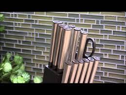 ginsu koden series 14 piece cutlery set 05253 youtube