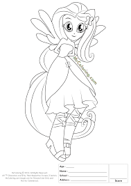 my little pony new equestria girls coloring pages coloring home