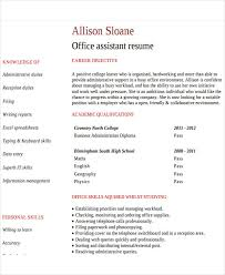 26 free work resume templates free word pdf documents download