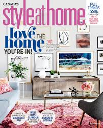 Home Design Magazine Facebook by Style At Home
