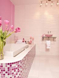 pink tile bathroom decorating ideas home interior decorating ideas
