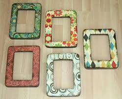 easy decoupage frames favecrafts com