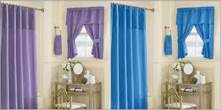 Purple Shower Curtain Sets - lovable purple bathroom window curtains and bathroom window