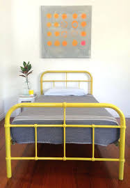 metal bed frame vintage full size of bed metal bed frame vintage
