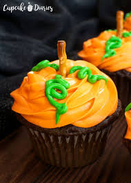 pumpkin patch cupcakes recipe laffy taffy tootsie rolls and