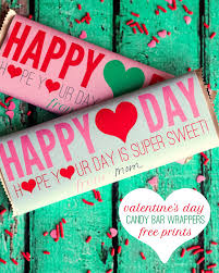 candy valentines free valentines candy bar wrappers