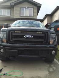 2013 f150 light bar led lightbar mounting options locations in 2014 lariat grille vs output
