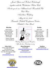westchester feline club is having a cat show wedding