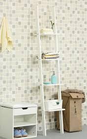 White 2 Shelf Bookcase by Orolay Modern Display Wall Shelf Ladder Shelf Bookcase Zzwj15