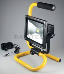 work zone rechargeable led work light rechargeable cordless 1 led 20w work floodlight metal s stand
