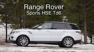 land rover hse 2016 range rover sport hse td6 review a posh drive through el niño u0027s