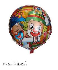 balloon delivery for kids 18 inch patata clown helium balloons kids birthday party
